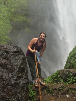 Touring Sipi Falls